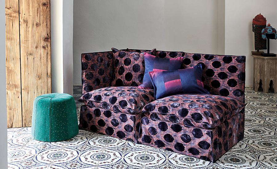 zinc textile telas para muebles importados